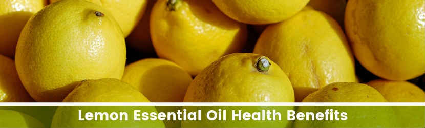 Lemon Essential Oil Health Benefits