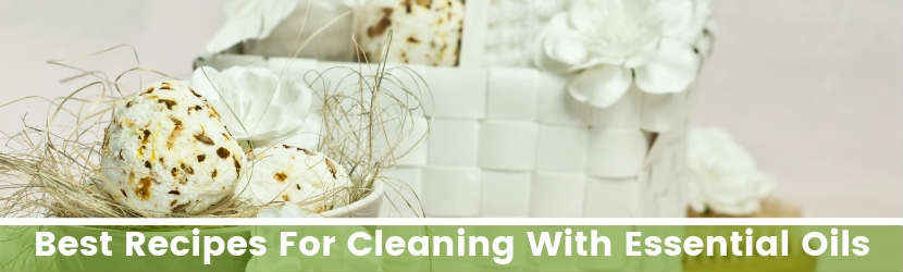 Essential Oils Cleaning Recipes
