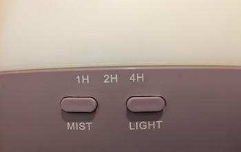doTERRA Petal diffuser buttons