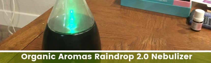 raindrop nebulizer by Organic Aromas