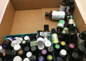 Essential Oil Clutter
